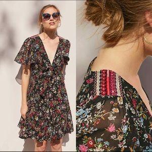 NWT Anthropologie XL floral dress